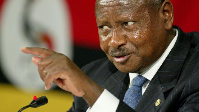 Правящий 30 лет Угандой Йовери Мусевени переизбран напост президента