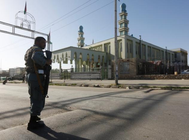 В итоге взрыва умечети вКабуле погибли шесть человек